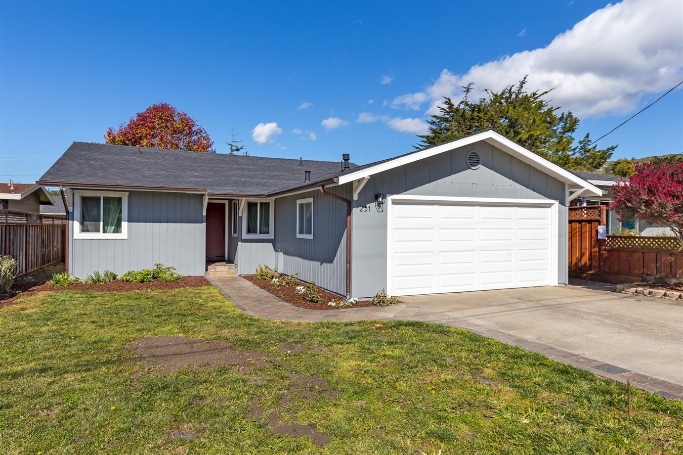 231 Vallejo Street, El Granada, remodeled home for sale