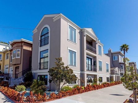 San Francisco remodeled corner lot home for sale in the Outer Richmond District
